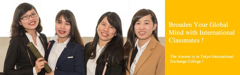 broaden your global mind with international classmates